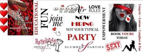 Slumber Parties Banner © Pam Zerblas